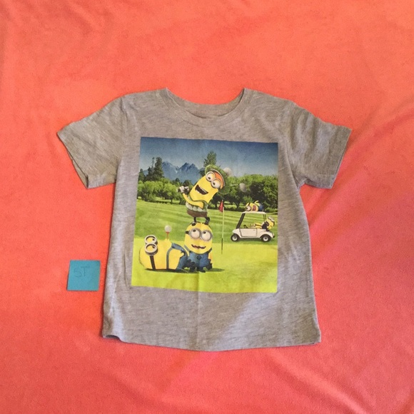 Despicable Me Other - Minions Gray T-shirt